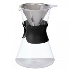 Leaf Bean Manual Filter Drip Coffee/Espresso Brewer Glass/Pot Dripper/Maker Set
