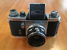 MIRANDA 35MM SLR FILM CAMERA WITH CASE