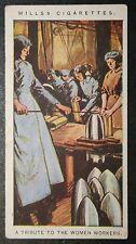British World War 1   Women War Workers  Original 1917 Tribute Card  # VGC