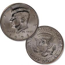 BU ROLL OF 1996-D HALF DOLLARS