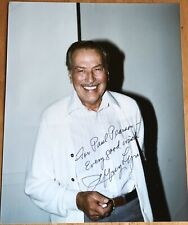 Actor Jeffrey Lynn Autograph Photo