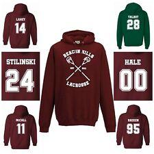 Teen Wolf Hoodie Beacon Hills Lacrosse CosplayGo - Pullover/Sweatshirt Unisex
