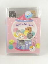 Mind Wave Small Animal Ball Fold Out Mini Memo Pad Stationery Kawaii