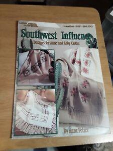 Vintage Leisure Arts no.981 Southwest Influence Cross Stitch Chart Booklet