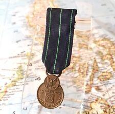 WWII U.S. NAVY EXPERT RIFLEMAN MINIATURE MEDAL SLOT BROOCH UV NEG. WW2