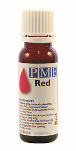 PME Natural Edible Liquid Food Colouring for Icing Sugarpaste Cake Decoration