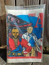 New listing The A Team-Vintage 1983 Paper Party Table Cloth-52 inch X 96 inch-Never Opened