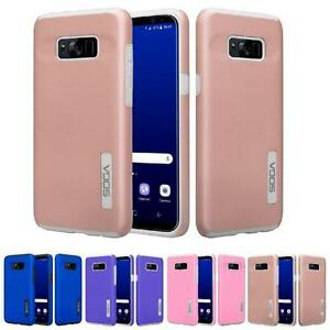 For Samsung Galaxy S8 Plus Shockproof Slim Hybrid TPU Armor Phone Cover Case