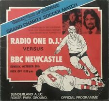 More details for radio 1 djs v bbc newcastle charity match at roker park 1977/78