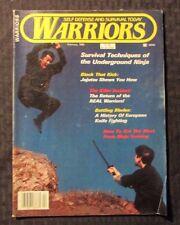 1985 Feb WARRIORS Magazine VG/FN 5.0 Self Defense & Survival - Martial Arts