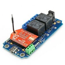 TOSR122 - 2 Channel Smartphone WiFi Relay - (Password/Momentary/Latching)