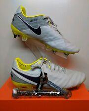 New Nike Tiempo Legend VI SG-PRO Soccer Cleats Platinum 827248-054 Women's Sz 8