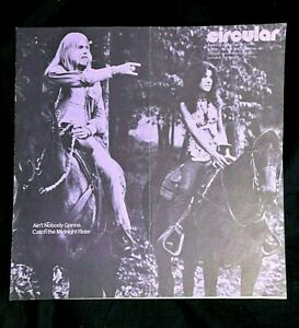1973 GREG ALLMAN OUT OF BROTHERS FRANK SINATRA BONNIE RAITT DR DEMENTO CIRCULAR