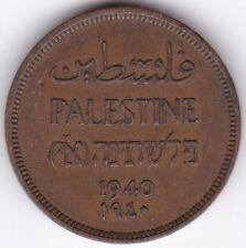Palestina 1940 MIL *** Bronzo da Collezione *** ***