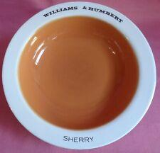 1960 Williams & Humbert Sherry Ashtray Burleigh Ware =