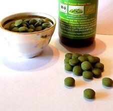 90 Bio Moringa Mix Tabletten Tabs Bio Chlorella Bio Spirulina Bio Gerstengras