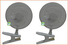 Lot de 2 ventilateur à pince clips clip fan ( darkroom darkstreet box )