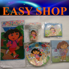 Dora Baby Shower Dora Birthday Party Supply Disposal Cup Table Sheet Plate Cards