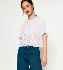 Zara Embroidered Tops & Shirts for Women