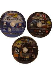 Naruto: Ultimate Ninja Storm Lot - 1, 2, 3 - PS3