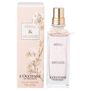 L'Occitane Néroli & Orchidée Eau de Toilette 75ml Alluring Mesmerising *FreePost