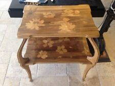 Antique Art Nouveau Inlaid Table Signed Paul Guth Circa 1920