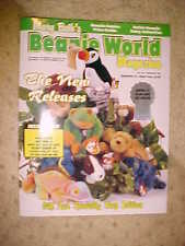 Mary Beth's Beanie World Magazine March/April of 1998 Like New Just out storage