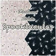 Dashwood Spooktacular Halloween Skeleton Ghost100% Cotton Patchwork Fabric