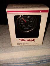 Marshall vacume / boost gauge. 30 ~ 30 . black face-all hardware