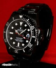 Black ROLEX Submariner KingsLife Limited RED Edition 116610 DLC / PVD - Ceramic