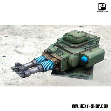 Alternative Twin-linked Lascannons Turret for Predator or Leman Russ - Bitspudlo