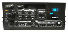 GMC CHEVY BOSE AM FM Radio Stereo Tape Cassette Player OEM Receiver 15075614