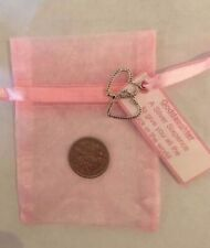 LUCKY SILVER SIXPENCE, GODDAUGHTER CHRISTENING GIFT
