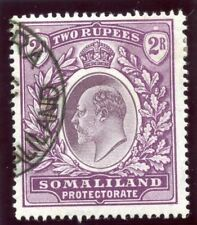 Somaliland 1904 KEVII 2r dull & bright purple very fine used. SG 42. Sc 37.