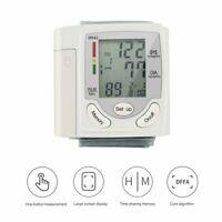 Digital Wrist High Blood Pressure Monitor BP Cuff Machine Gauge Meter Tester