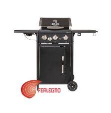 BARBECUE BBQ A GAS 111X121X56 3 BRUCIATORI + FORNELLO AUSTRALIA 325G OUTDOORCHEF