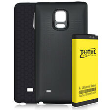 7300mAh Extended Battery+Black Cover+TPU Case F Samsung Galaxy Note Edge N915