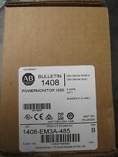 NEW ALLEN BRADLEY 1408-EM3A-485 POWERMONITOR 1000