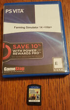 FARMING SIMULATOR 14 FOR SONY PLAYSTATION VITA IN GOOD USED CONDITION
