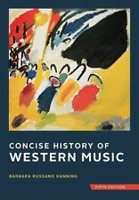 Concise History of Western Music by Barbara Russano Hanning (2014, Hardcover...