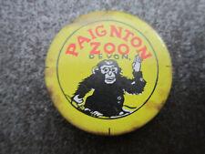 Paignton Zoo Pin Badge Button (L14B)