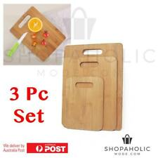 Uniwide Bamboo Chopping Boards Set of 3
