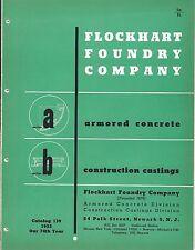 MRO Brochure - Flockhart Foundry - Armored Concrete Casting - 1953 (MR199)