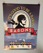 Baron'S Australia Beer Poster