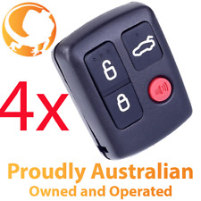 4 x Ford BA BF Falcon Sedan Wagon Central Locking Keyless Car Remote 4 Button