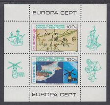 Turkish Northern Cyprus Sc 127 MNH. 1983 EUROPA-CEPT, mini-sheet of 2, scarce