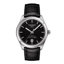 Tissot T101.451.16.051.00 PR 100 COSC Men's Watch Black Leather