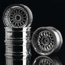 2084 Plating Wheel Rim Offset 9mm 4P RC HSP HPI For 1/10 On-Road Drift Car