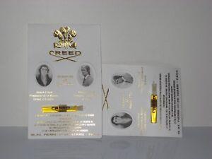 3 Piece Lot x Creed Green Jasmal Men / Women 0.05 oz Splash Sample Vial On Card