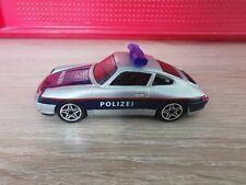 (K1BO) Bburago  1:43 Porsche Carrera 911 Polizei